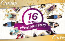 El gimnàs Curves Lleida celebra 16 anys de vida