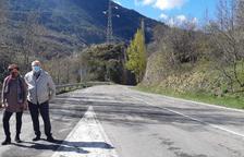 Asfaltaran la carretera L-500 de la Vall de Boí al maig