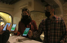 Girona inicia un assaig per servir sopars als 'Covid free'
