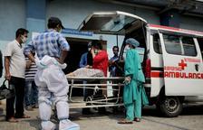 L'Índia supera els 18 milions de casos després d'un nou rècord de contagis