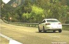 A judici per anar a 185 km/h per la C-14 a Peramola