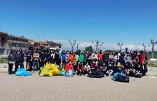 Acción del INS La Segarra contra los residuos