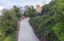 Milloren el passeig al costat del castell de Vicfred