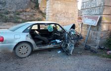 Mor un home de 50 anys en un accident a Albelda