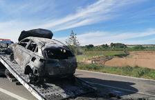 Dos morts en un accident a Artesa de Lleida