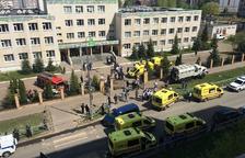 Ocho muertos en un tiroteo en un instituto en la ciudad rusa de Kazán