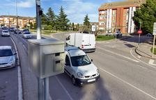 Más de 1.500 multas en un mes en Guissona por el nuevo radar