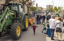 Tractorada en Cervera para homenajear a Sant Isidre