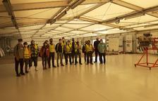 Arranca el curso de mecánico de avión en Alguaire
