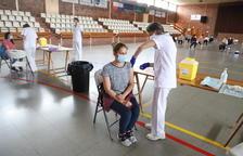 La vacunació segueix a tot ritme a Lleida i arriben 18.700 dosis