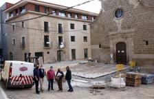 Alpicat estrena en tres mesos la reforma del barri antic