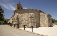 Acaban las obras junto a la iglesia de Sant Pere dels Arquells