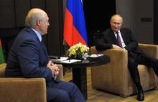 Lukashenko acude a Putin y denuncia el intento de 'desestabilizar' Bielorrusia