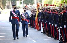 Borràs rechaza acudir a un acto del Ejército por el discurso del rey el 3-O