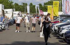 Cent vehicles venuts en el mercat d'ocasió de Tàrrega