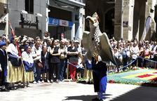 Lleida s'omplirà diumenge de cultura popular per les Festes Tradicionals de Corpus