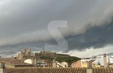 © Tormenta sobre Lleida