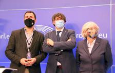 El TGUE devuelve provisionalmente la inmunidad a Puigdemont, Comín y Ponsatí mientras resuelve el recurso contra la Eurocámara