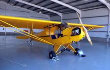 Restauran el 'Piper J3', el avión matriculado con permiso de vuelo más antiguo del Estado