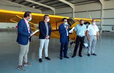 Setenta y cinco años de historia vuelan en el aeropuerto de Alguaire