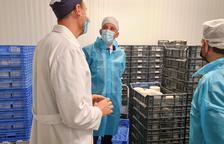 Crespín visita a Almacelles la formatgeria artesanal Cal Quitèria