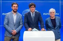 Puigdemont, Comín y Ponsatí quieren que la UE obligue a España a respetar su inmunidad