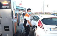 Quant pagaran els conductors de Lleida per la pujada del carburant?