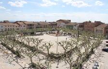 La reforma de la plaza Planell de Linyola pretende adaptarla a las nuevas necesidades.
