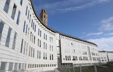 Vista de la seu dels jutjats de Lleida al Canyeret.