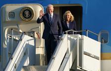 Joe Biden abre su gira europea con amenazas contra Rusia