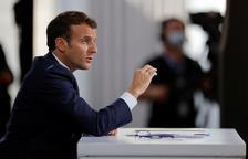Condenado a cuatro meses de prisión firme el hombre que abofeteó a Macron