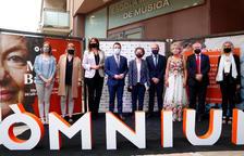 Òmnium corona Maria Barbal amb el Premi d'Honor de les Lletres a Tremp