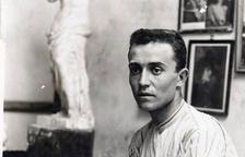 Imatge de joventut de l'escultor de la Segarra Urbici Soler.