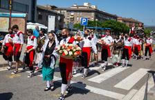 Ponts se llena de tradición durante la Festa del Roser
