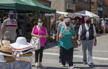 La Fira de l'Ou de Sant Guim reivindica el producte local