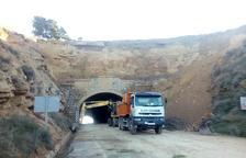 Fraga asegura el túnel de la N-II para evitar desprendimientos