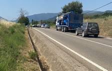 Un jove motorista de Lleida va morir divendres passat a l'A-2 a Alcoletge.