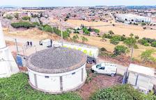Cisternes d'aigua a Sant Ramon per la calor i al tenir els pous inservibles