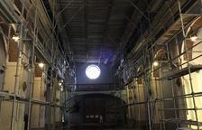 Almacelles tanca l'església de dilluns a divendres per obres a l'interior