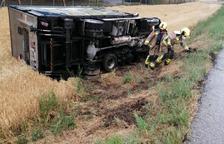 Mor un jove de Tremp de 25 anys al bolcar el tractor amb el qual treballava