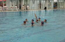 El CN Lleida acull amb èxit el Català benjamí de natació artística