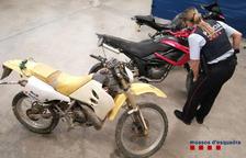 Roba dos motocicletes i un ciclomotor al Pla d'Urgell