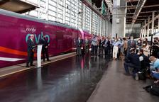 Renfe estrena l'Avlo, amb parada a Lleida, amb pràcticament un 100% d'ocupació