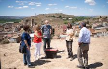 Investigación arqueológica en el Castell de Aitona antes de instalar un mirador