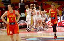 La selección, eliminada en cuartos por Serbia