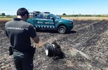 Denuncien el xòfer del camió que va causar 41 incendis a la Noguera