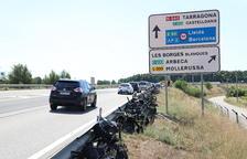 Tres heridos en sendos accidentes en el Pallars Jussà y Solsona