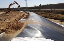 Última fase para cerrar el vertedero de Sedasés de Fraga tras 10 años de obras