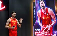 Espanya presenta l'equip per a Tòquio amb Ricky Rubio i els Gasol