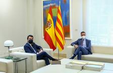Aragonès i Sánchez pacten reprendre la taula de diàleg la tercera setmana de setembre